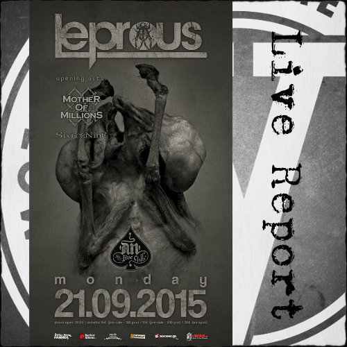 Norway,Leprous,Reports,News,2015,An Club,Athens,Greece,Progressive Metal