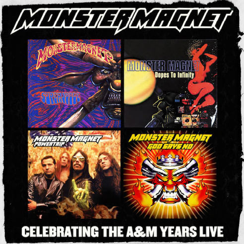MONSTER MAGNET announce a live celebration of the A&M years