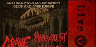 Grave,Soulskinner,Malevolent Creation,Death Metal,Live,Reports,An Club,Athens,Greece,2015,News