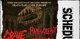 Live,Grave,Malevolent Creation,News,Soulskinner,Necrormagsm,Death Metal,An Club,Eightball,Greece,Schedule,2015