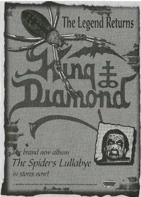 The Spider's Lullabye commercial poster