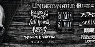 Dementia, Below The Bottom, Abyssus, Full House, Released Anger Furor, Covixion, 1000Dead,Pure Violent Hedonism, lEGACY,ΒΟΜΒΟΣ Μουσικός Πολιτιστικός Σύλλογος,Athens, 2016