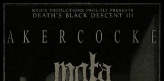 The Temple Of Evil,Black Metal, Mgla,Akercocke, The Dead Creed, Krisis Productions, News,2017,Live,Events, Time Schedule, Eightball Live Stage, Kyttaro Live Club,