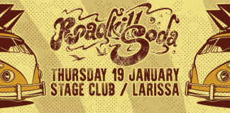 RoadkillSoda,Made Of Stone Productions,Events,2017,Stage Larissa,Rock 'n' Roll,Stoner,Russia