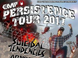 Persistence Tour,2017,News, Live, Reports, Suicidal Tendencies, Agnostic Front, Municipal Waste, Walls of Jericho, Down To Nothing, Misery, Burn,Poland,Hardcore,Crossover