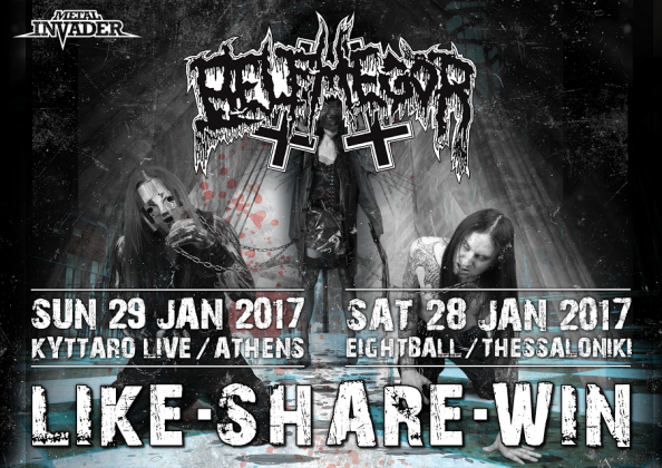 Contest,Belphegor, Made of Stone Productions, Womb Of Maggots, Foray Between Ocean, Vermingod, Bio Cancer,Eightball,Kyttaro,News,2017