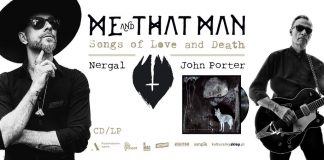 Me And That Man, News,Nergal,Cooking Vinyl, Poland,Americana Folk,Dark Folk,2017,Video