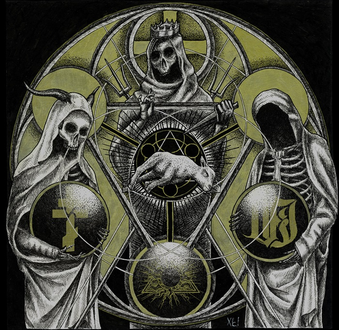 Upcoming Split Release Between Vi Temple Of Baal The Order Of