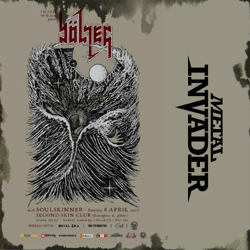 Bolzer, Soulskinner,3 Shades Of Black,News,Live,2017,Death Metal,Black Metal,Second Skin