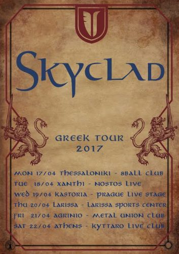 Skyclad, News,2017,Eat Metal Records,Live, Krisis Productions