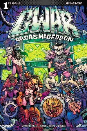 Gwar,News,2017,Dynamite Entertaintment,Punk, Shock Rock