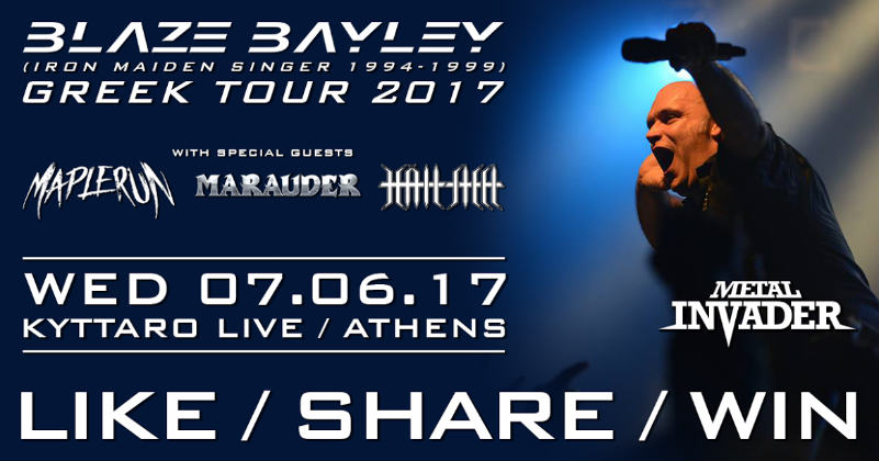 Blaze Bayley, 3P Lab, News,2017,Heavy Metal, Made Of Stone Productions, Contest
