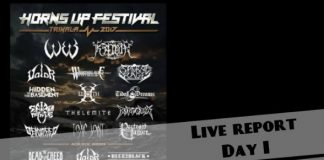 Spider Kickers, Toxic Joint, Valor, W.E.B,Riffobia,Horns Up Festival, News,2017,Deacidified,Wrathblade,Sacral Rage,