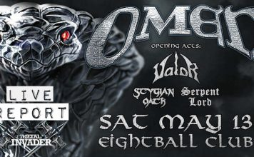 Valor, Serpent Lord, Stygian Oath,Heavy Metal,News,2017,Omen,Live,Reports, Eightball Live Stage,