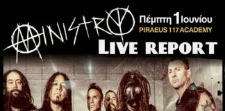 AFM Records,U.S.A.,Industrial Metal, Rock, News,Ministry,News,Live,Principal Club Theater, Piraeus 117 Academy,