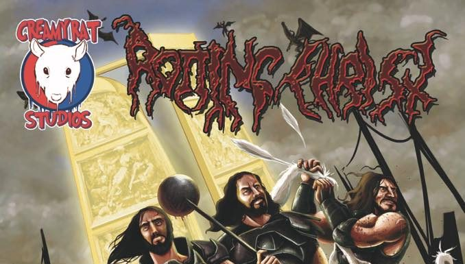 Greece, Rotting Christ, Season Of Mist, Comic Book, News,2017,Jeremy Frazier
