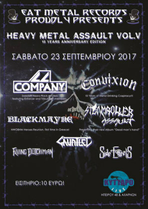 heavy metal assault poster