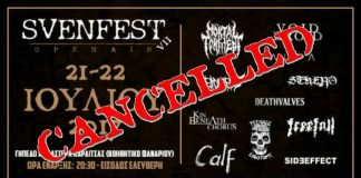 Svenfest, Mortal Torment, Stheno, Void Droid,Kalpa,Deacidified,Deathvalves,Kin Beneath Chorus,Freefall,Calf,SideEffect,Teenage Lobotomy,News,2017,Svenfest VII,Death, Grindcore,Experimental,Post,Heavy Metal, Stoner,Punk,Hardcore,Live