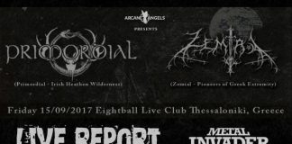 Metal Blade Records,2017, News,Reports,Ireland,Primordial, Greece,Zemial,Celtic Folk, Black Metal,Eightball,Arcane Angels,Progressive, Thrash, Heavy Metal
