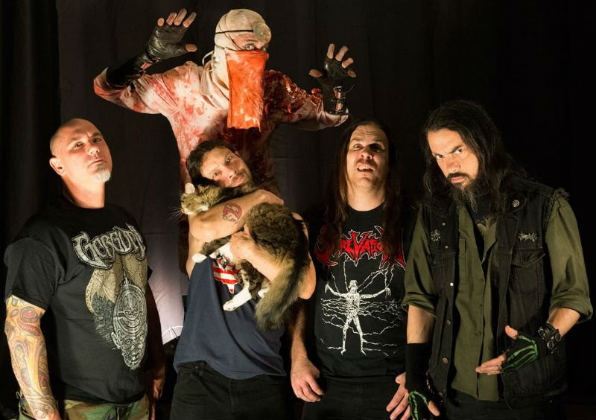 Exhumed, U.S.A., 2017, News, Videos, Death, Gore, Relapse Records