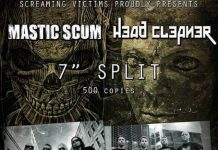 Mastic Scum, Austria, Grindcore, Death, Greece, Headcleaner, Screaming Victims Records, News, 2017