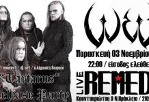 Dark, News, Greece, W.E.B.,Release Party, Secrete Gig, Remedy Live Club,