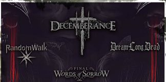 MODU, Decemberance, News, 2017, Reports,Death Metal, Doom Metal, RandomWalk, DreamLongDead,Final Words Of Sorrow,