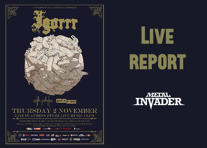 Igorrr, Reports, News,France,God In A Cone, Still Falling, Fuzz Live Club, Death Metal, Electronic, Experimental,Baroque,2017,News,3 Shades Of Black