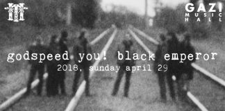 Gazi Music Hall, Godspeed You! Black Emperor, , News, 2018, Post-rock, Constellation Records, 3 Shades of Black,