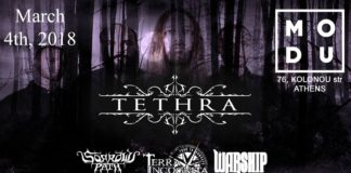 Tethra, MODU, Live, Events, Doom Metal,2018, Sorrows Path, Terra Incωgnita, Warship