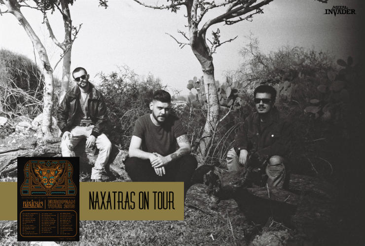 Psychedelic,Space Rock, Progressive Rock, Naxatras, Greece,News,2018, European Tour