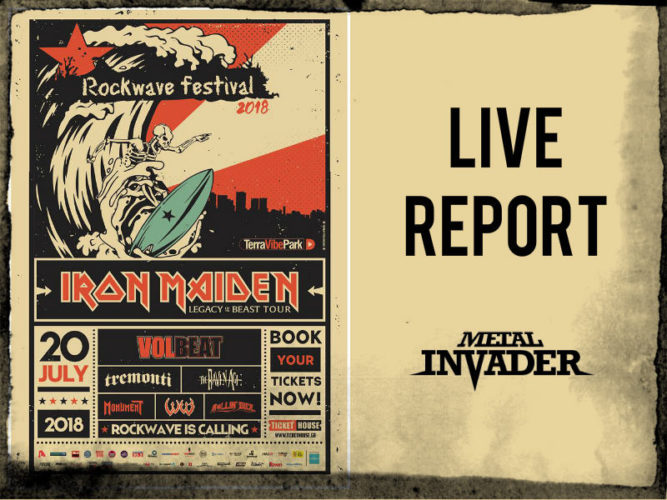 News, Symphonic, Gothic Metal, 2018, Reports, Heavy Metal, N.W.B.H.M., Iron Maiden The Raven Age, Volbeat, Tremonti, Rollin' Dice,W.E.B.,Rockwave Festival, 2018, Greece, Terra Vibe Park