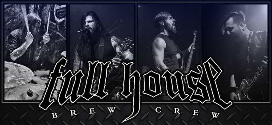 Full House Brew Crew, Greece, News, Lyric Video, 2018, ROAR!Rock Of Angels Records, Power Groove Metal
