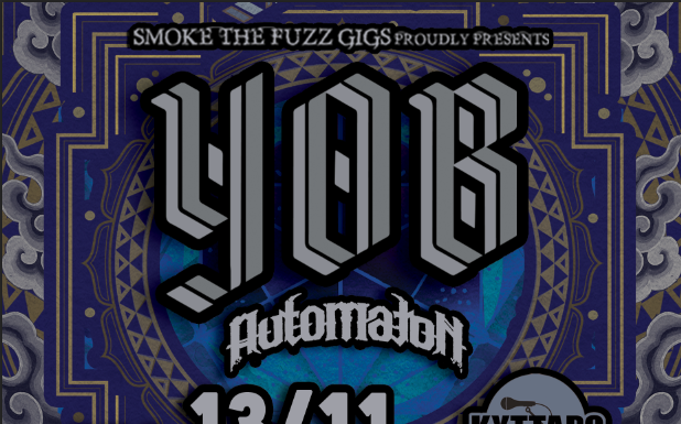 U.S.A.,Stoner, Doom Metal, YOB, News,2018, Live, Kyttaro Live Club, Smoke The Fuzz,