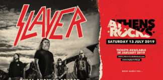 AthensRocks Festival, News,2018, Slayer, Facebook, Thrash Metal,High Priority Promotions, U.S.A., Nuclear Blast Records