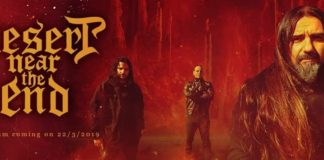 Total Metal Records,Power Metal, Thrash Metal, News,2019, Lyric Video, News,Greece, Desert Near The End