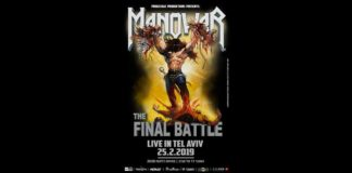 The Final Battle Tour 2019, Heavy/Power Metal, Magic Circle Music, News, Release Athens, Setlist, Manowar, U.S.A.,